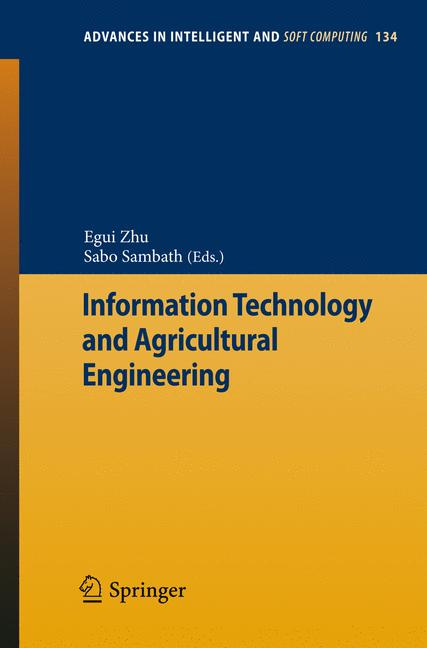 Cover of 'Information Technology and Agricultural Engineering'