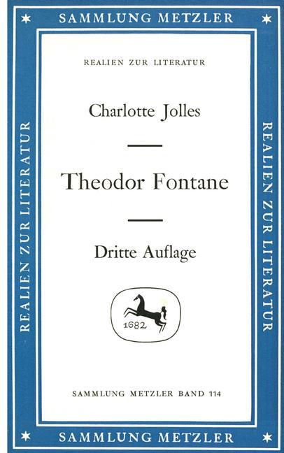 Cover of 'Theodor Fontane'