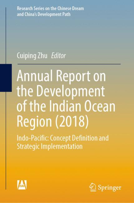 Cover of 'Annual Report on the Development of the Indian Ocean Region (2018)'