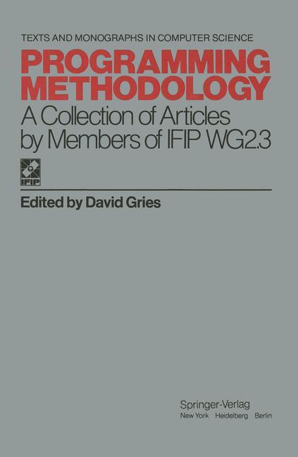 Cover of 'Programming Methodology'