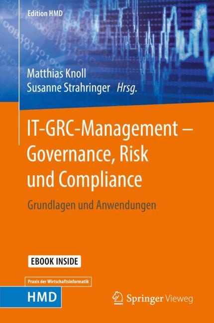 Cover of 'IT-GRC-Management – Governance, Risk und Compliance'