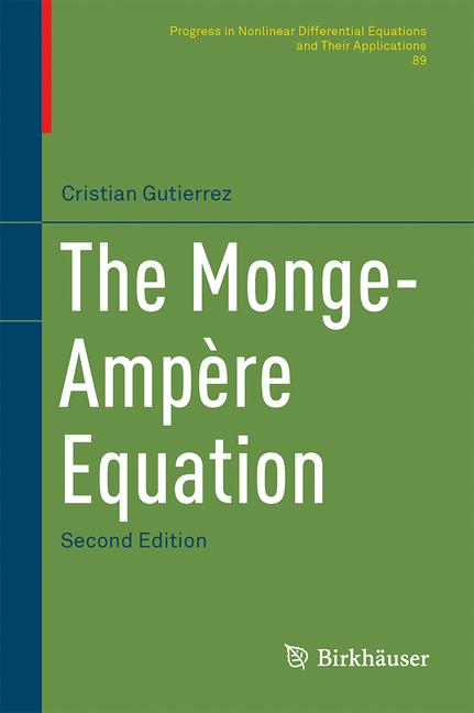 Cover of 'The Monge-Ampère Equation'