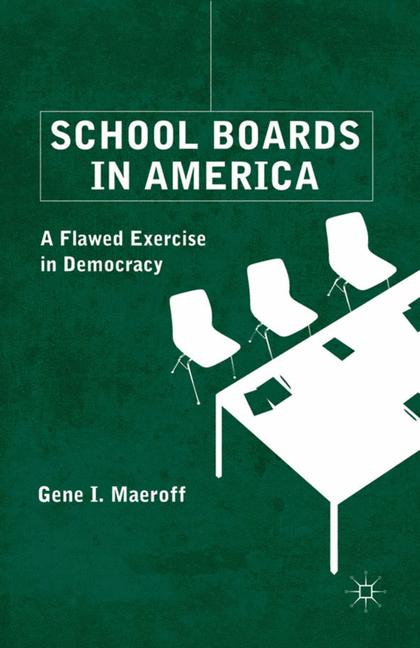 Cover of 'School Boards in America'