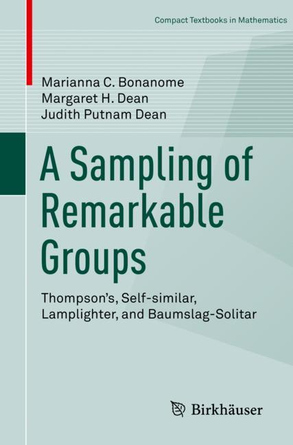 Cover of 'A Sampling of Remarkable Groups'