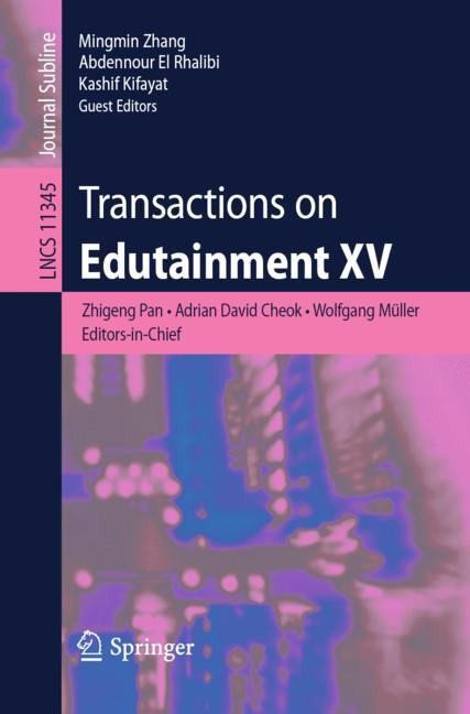 Cover of 'Transactions on Edutainment XV'