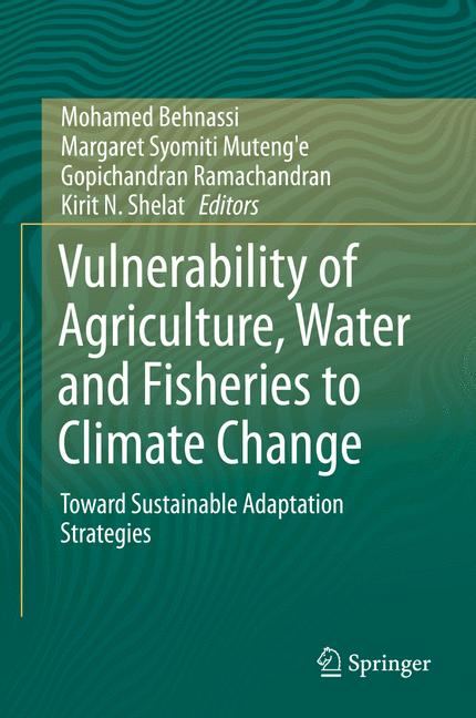 Cover of 'Vulnerability of Agriculture, Water and Fisheries to Climate Change'