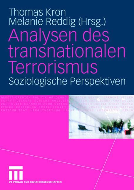 Cover of 'Analysen des transnationalen Terrorismus'