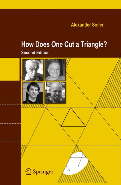 Cover of 'How Does One Cut a Triangle?'