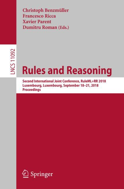 Cover of 'Rules and Reasoning'