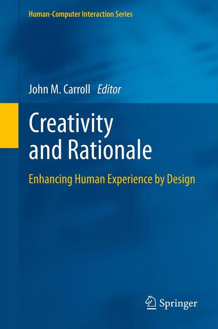 Cover of 'Creativity and Rationale'