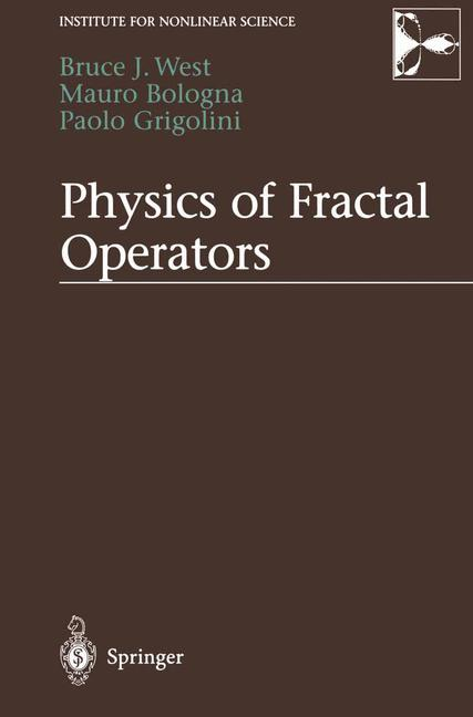 Cover of 'Physics of Fractal Operators'