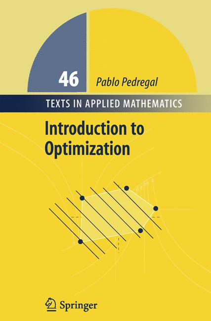 Cover of 'Introduction to Optimization'