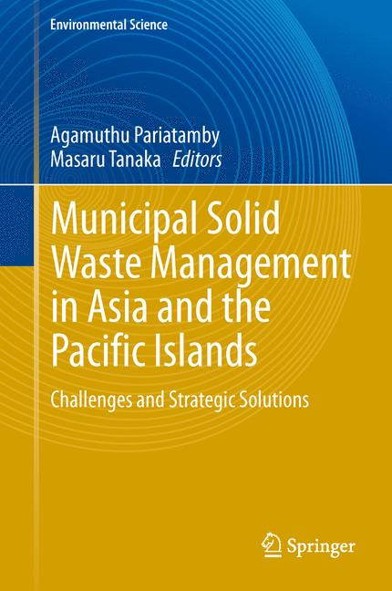 Cover of 'Municipal Solid Waste Management in Asia and the Pacific Islands'