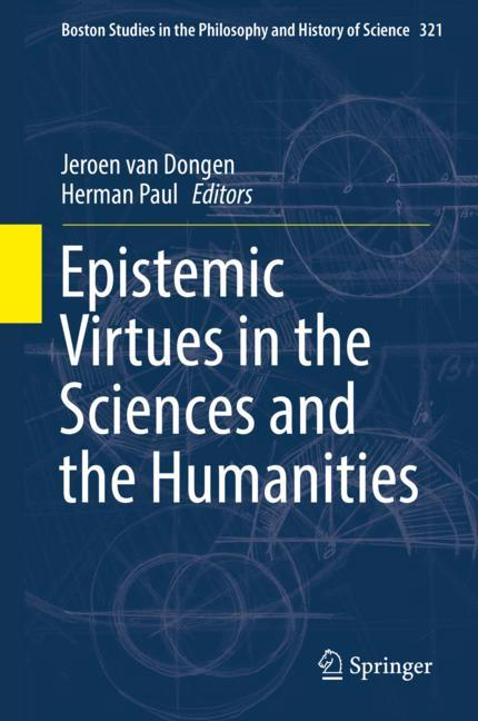 Cover of 'Epistemic Virtues in the Sciences and the Humanities'