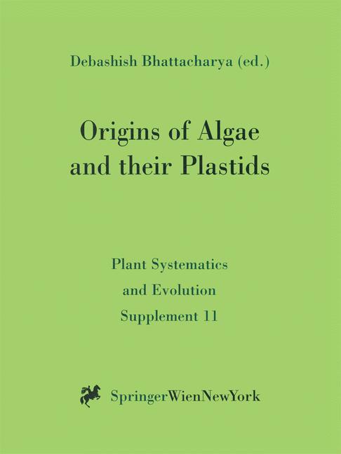 Cover of 'Origins of Algae and their Plastids'
