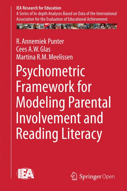 Cover of 'Psychometric Framework for Modeling Parental Involvement and Reading Literacy'