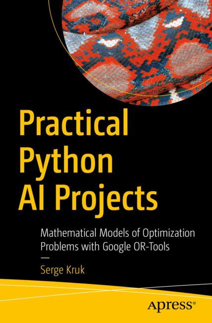 Cover of 'Practical Python AI Projects'