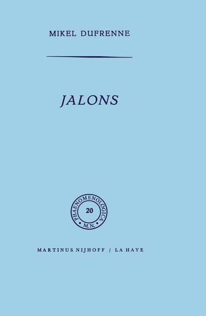 Cover of 'Jalons'