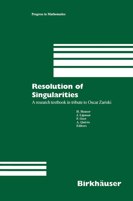 Cover of 'Resolution of Singularities'