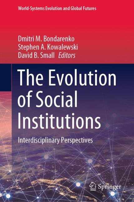 Cover of 'The Evolution of Social Institutions'