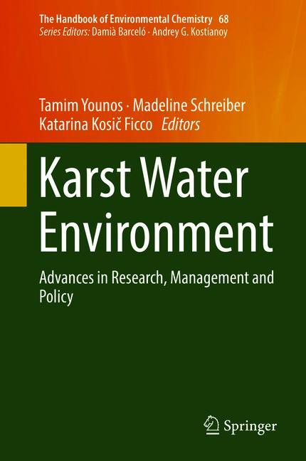 Cover of 'Karst Water Environment'