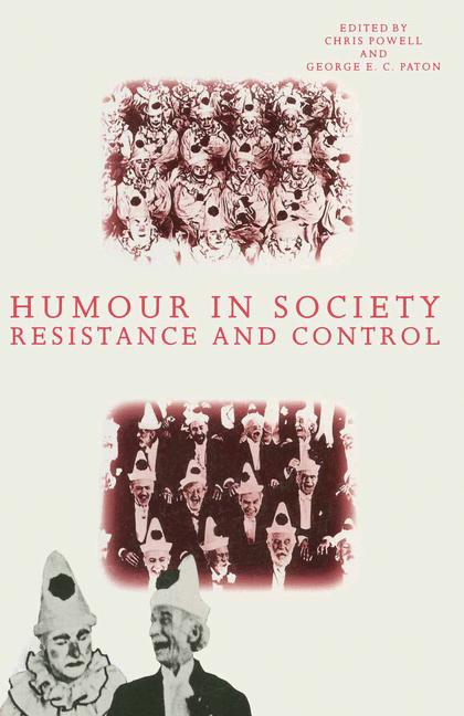 Cover of 'Humour in Society'