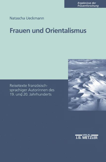 Cover of 'Frauen und Orientalismus'