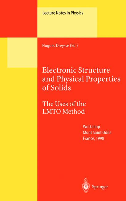 Cover of 'Electronic Structure and Physical Properies of Solids'