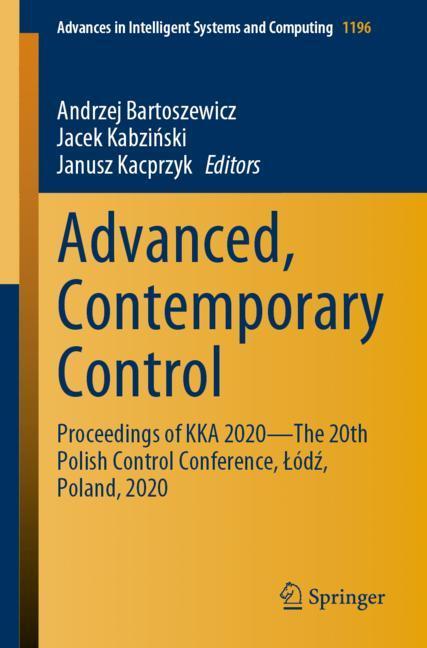 Cover of 'Advanced, Contemporary Control'