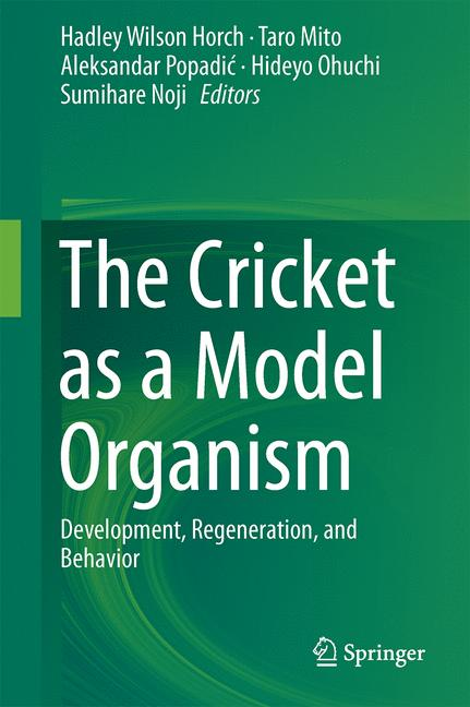 Cover of 'The Cricket as a Model Organism'