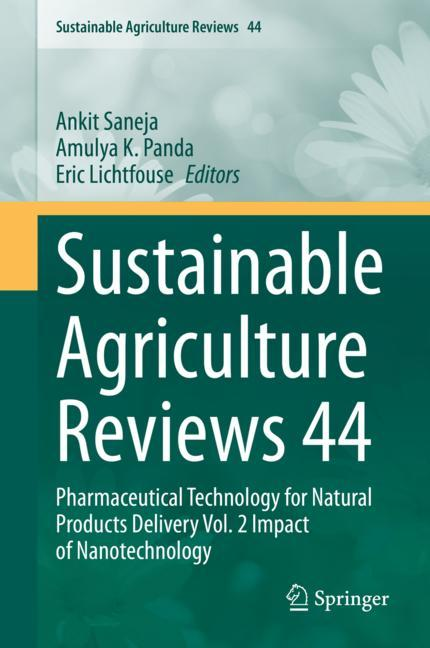 Cover of 'Sustainable Agriculture Reviews 44'