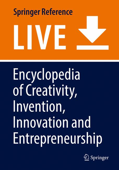Cover of 'Encyclopedia of Creativity, Invention, Innovation and Entrepreneurship'
