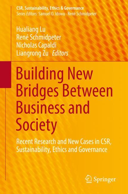 Cover of 'Building New Bridges Between Business and Society'