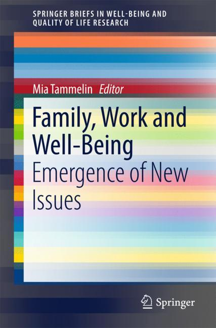Cover of 'Family, Work and Well-Being'