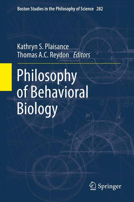 Cover of 'Philosophy of behavioral biology'