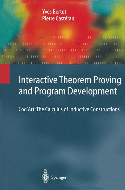 Cover of 'Interactive Theorem Proving and Program Development'