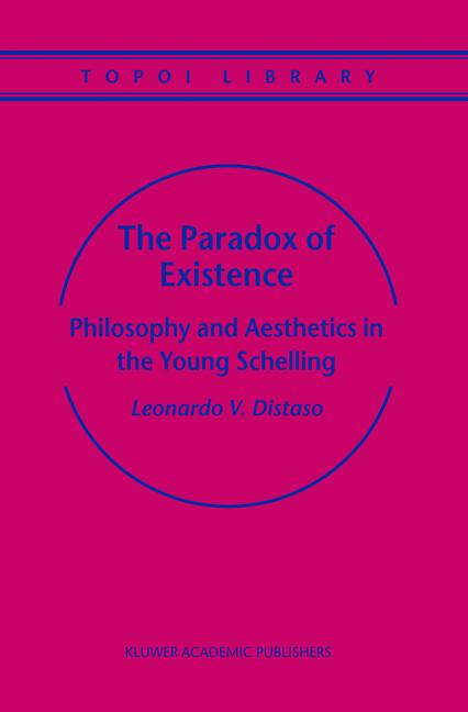 Cover of 'The Paradox of Existence'