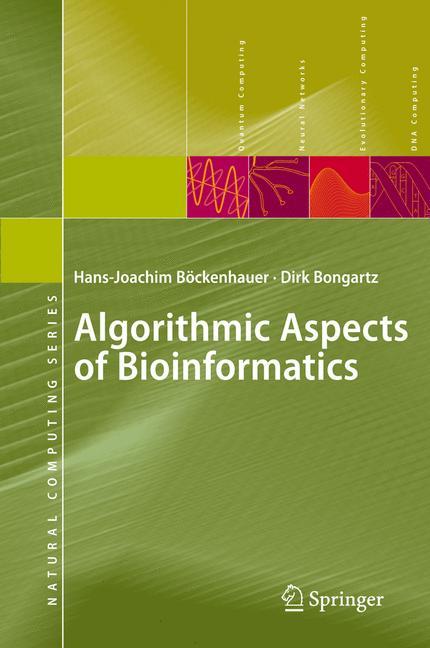 Cover of 'Algorithmic aspects of bioinformatics'