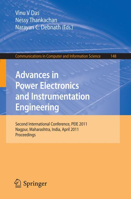 Cover of 'Advances in Power Electronics and Instrumentation Engineering'