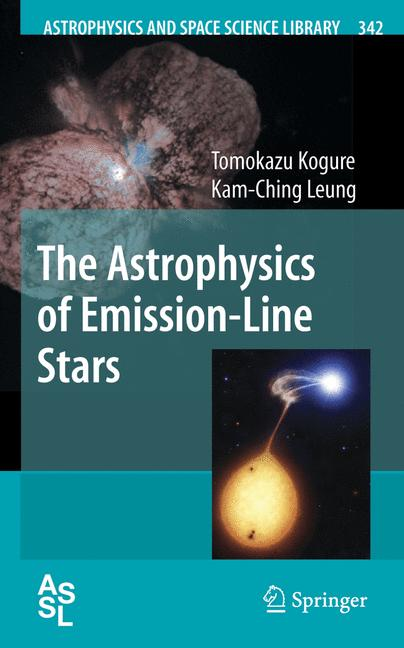 Cover of 'The Astrophysics of Emission-Line Stars'