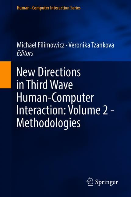 Cover of 'New Directions in Third Wave Human-Computer Interaction: Volume 2 - Methodologies'