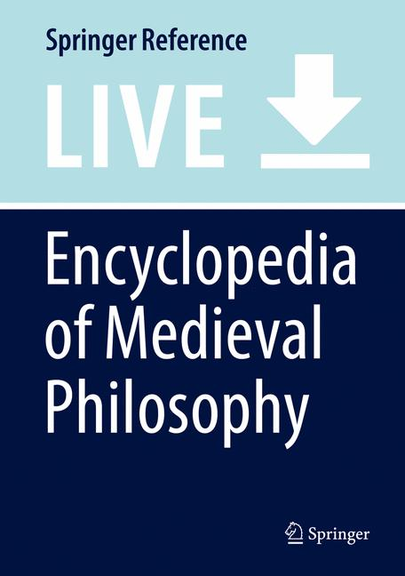 Cover of 'Encyclopedia of Medieval Philosophy'