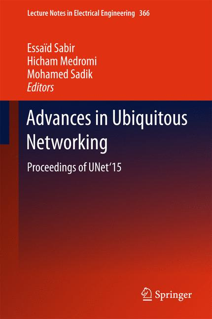 Cover of 'The International Symposium on Ubiquitous Networking'