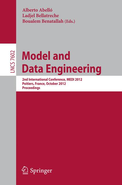 Cover of 'Model and Data Engineering'