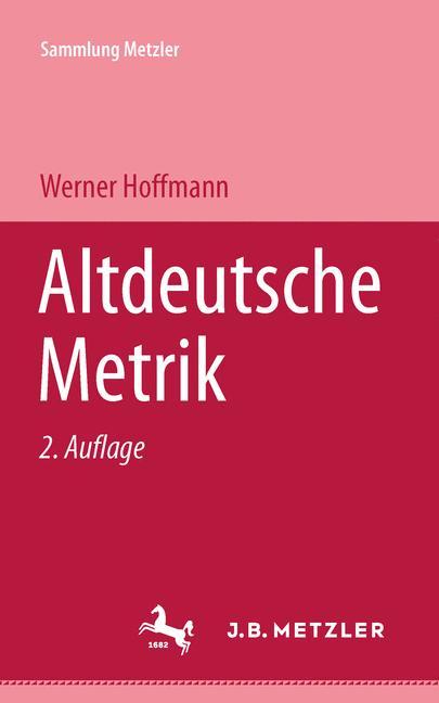 Cover of 'Altdeutsche Metrik'