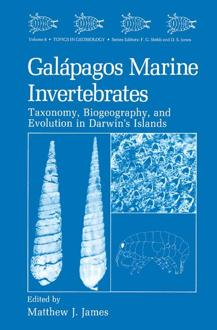 Cover of 'Galápagos Marine Invertebrates'