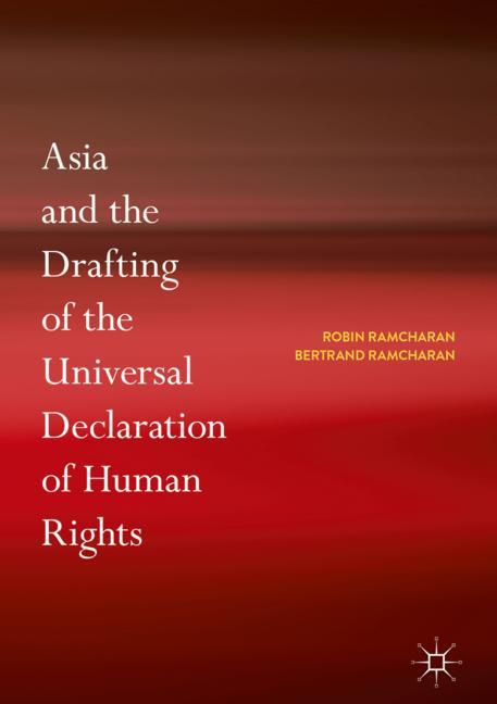 Cover of 'Asia and the Drafting of the Universal Declaration of Human Rights'
