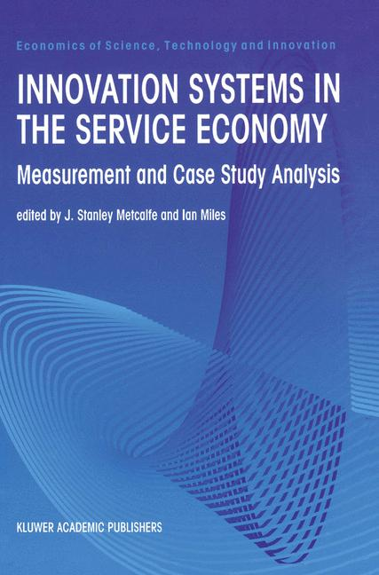 Cover of 'Innovation Systems in the Service Economy'