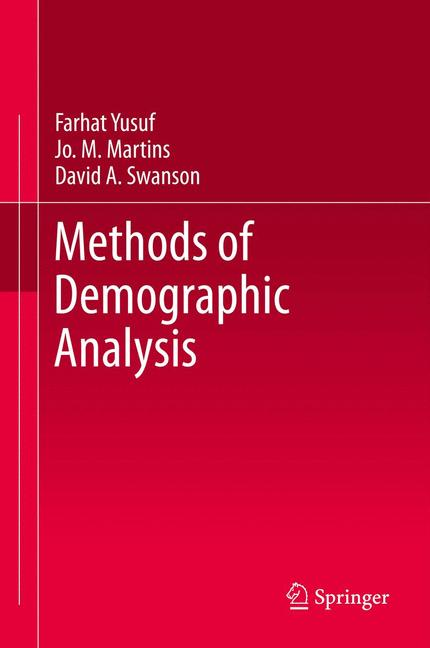 Cover of 'Methods of Demographic Analysis'