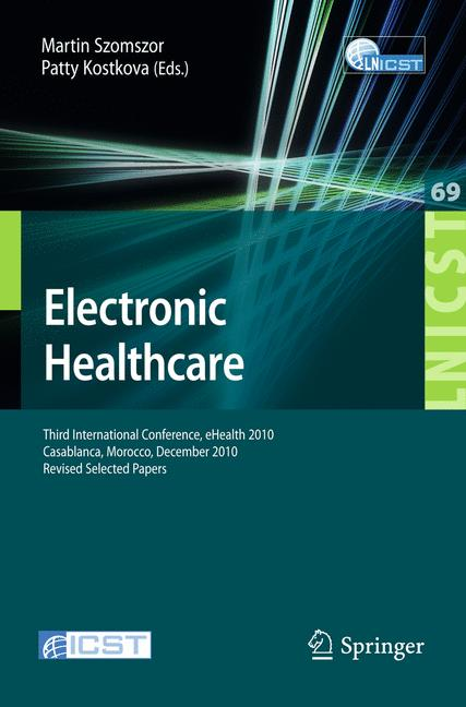 Cover of 'Electronic Healthcare'